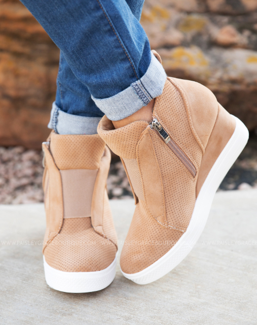 ZOEY Wedge Sneakers