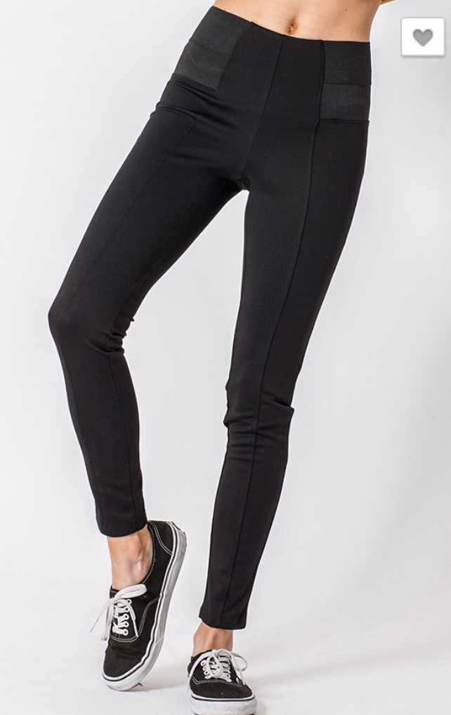 The Perfect Black Seam Leggings | FINAL SALE - BAD HABIT BOUTIQUE