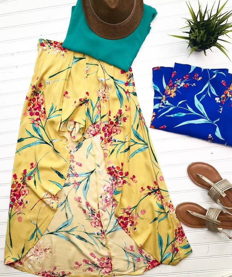 Tropical Maxi Shorts