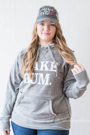 (limited edition) Lake Bum Hoodie Unisex Fit -Gray Color Varies, LAKE, GRAPHICS, BAD HABIT BOUTIQUE, plus size, Hoodies, Holiday gift, 2019 holiday gifts
