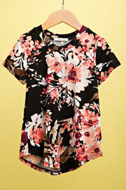 Sidekick Collection :My Favorite Bouquet Floral Top - FINAL SALE