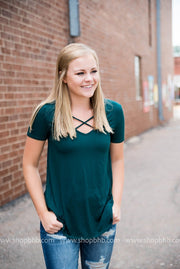 Fall Criss Cross Tees, SALE, vendor-unknown, badhabitboutique