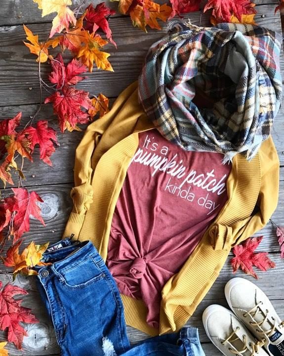 Its a pumpkin Patch Kinda Day, HALLOWEEN, vendor-unknown, badhabitboutique