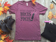 Its a bunch of Hocus Pocus Tee  | Wine, HALLOWEEN, GRAPHICS, badhabitboutique