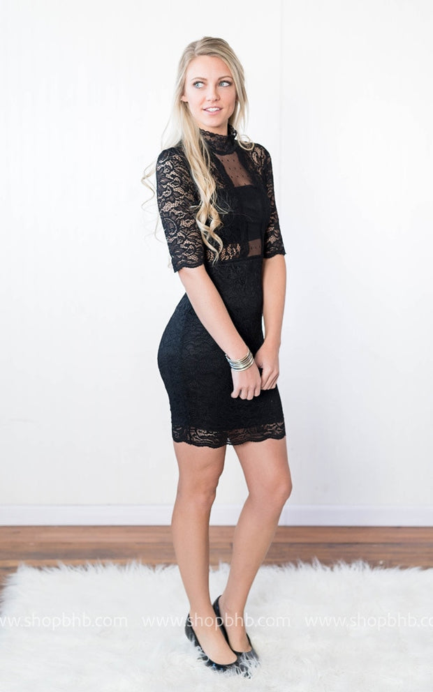 The Black Lace Dress