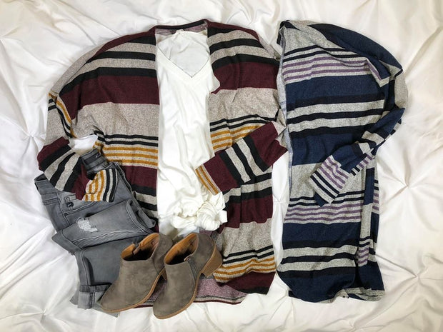 Find your new go to striped cardigan!!