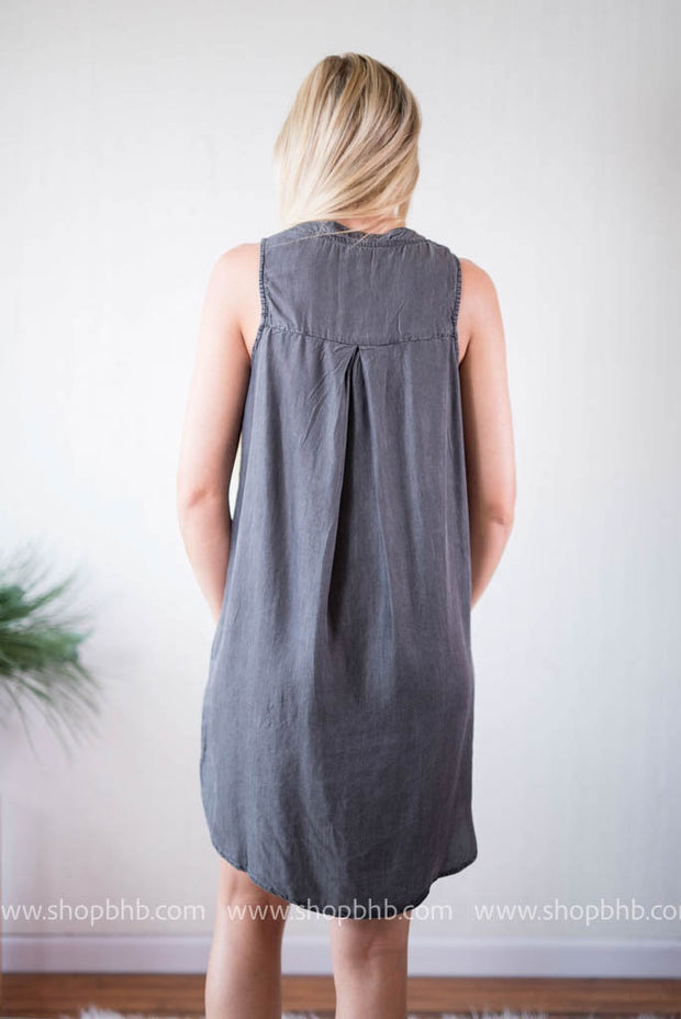 Pocket Shift Dress