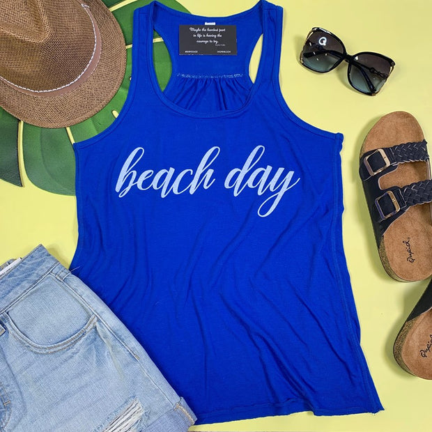 Beach Day Tank, GRAPHICS, BAD HABIT APPAREL, BAD HABIT BOUTIQUE