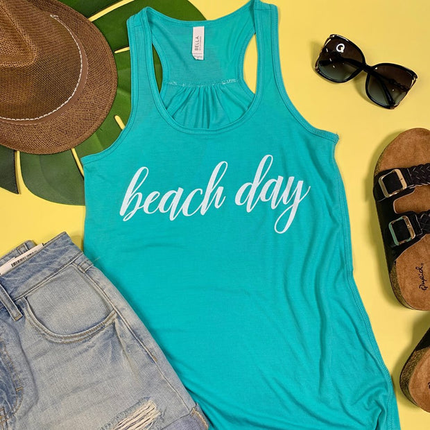 Beach Day Tank, CLOTHING, BAD HABIT APPAREL, BAD HABIT BOUTIQUE