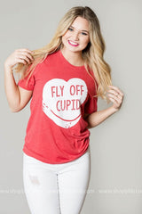 Fly Off Cupid - Red, CLOTHING, BAD HABIT APPAREL, BAD HABIT BOUTIQUE