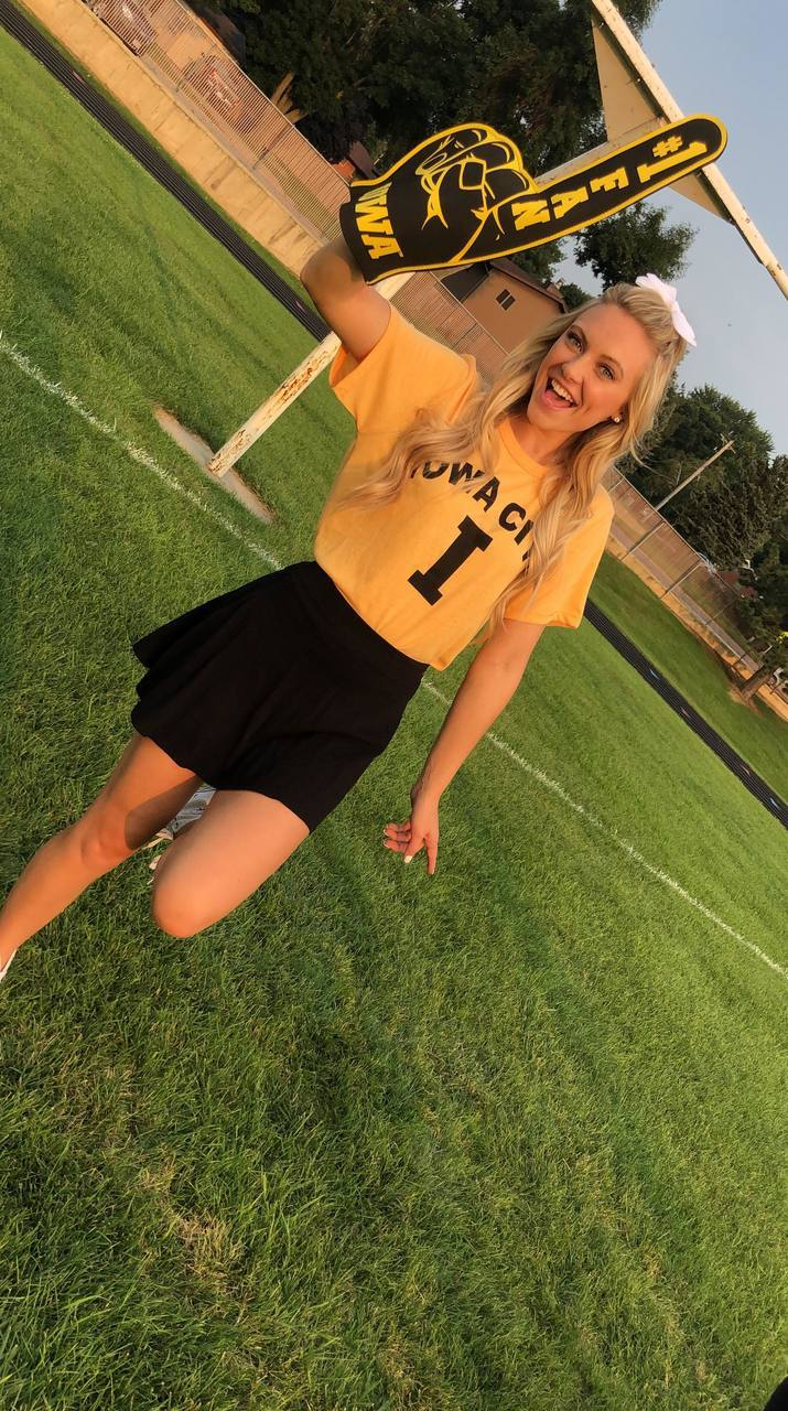 Iowa City Unisex Tee | Gold, GAMEDAY, BAD HABIT APPAREL, badhabitboutique