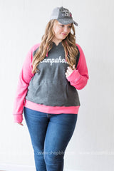 Campaholic Two-Toned Hoodie, CLOTHING, BAD HABIT APPAREL, BAD HABIT BOUTIQUE