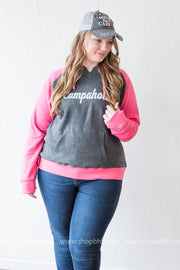 Campaholic Hoodie - Fuschia, CAMP, GRAPHICS, BAD HABIT BOUTIQUE