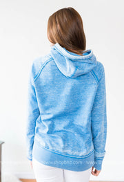 (LIMITED EDITION ) Lake Bum Hoodie 8915 - Blue, CLOTHING, BAD HABIT APPAREL, BAD HABIT BOUTIQUE