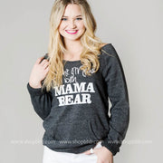 Dont Mess with Mama Bear Sweater - ECO BLACK, WHAT'S NEW, GRAPHICS, badhabitboutique