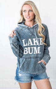 Lake Bum Hoodie || Vintage Navy, CLOTHING, BAD HABIT APPAREL, BAD HABIT BOUTIQUE