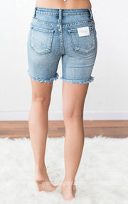 Long Cutoff Shorts | Denim, WHAT'S NEW, vendor-unknown, badhabitboutique
