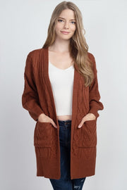 cable knitt cardigan