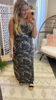 camo dress, camo maxi dress, camo, maxi dress, summer dresses, tank dress