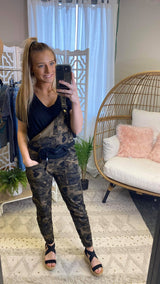 Camo Overall & Fanny Pack | FINAL SALE, CLOTHING, TwinSisters Inc., BAD HABIT BOUTIQUE