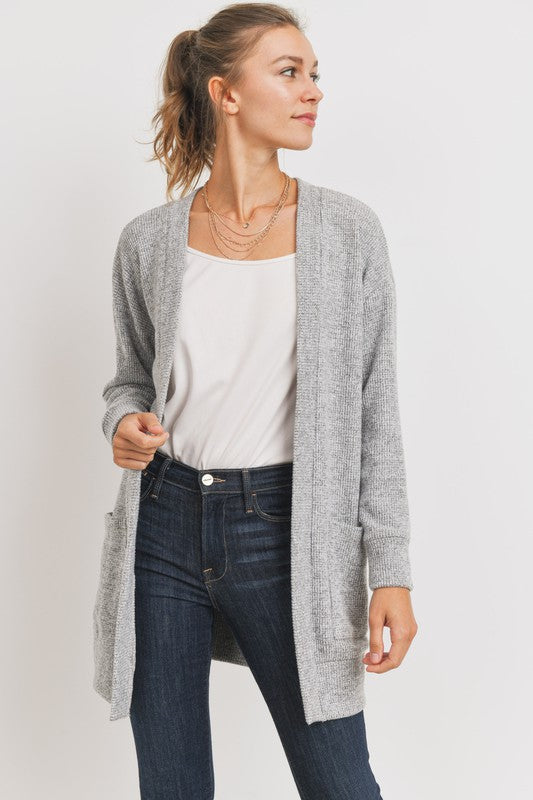 The Joanne Thermal Cardigan, CLOTHING, Cherish, BAD HABIT BOUTIQUE