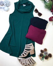 Cowl Neck Tank Dress.., HOLIDAY, TCEC, badhabitboutique