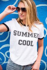 BHB Summer Cool Graphic Tee, CLOTHING, BAD HABIT APPAREL, BAD HABIT BOUTIQUE