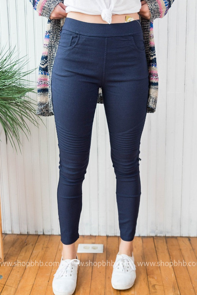 Hello Moto Jeggings | FINAL SALE