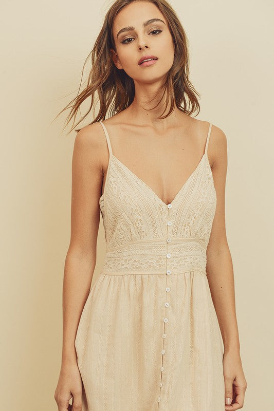 Wanderlust Lace Midi Dress - Final Sale, CLOTHING, Dress Forum, BAD HABIT BOUTIQUE