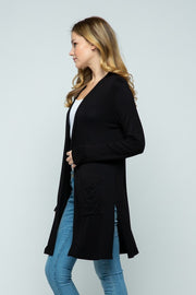 Long Duster Cardigan - Cielo, CLOTHING, CIELO, BAD HABIT BOUTIQUE