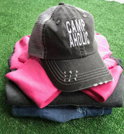 Campaholic Trucker Hats, CAMP, BAD HABIT APPAREL, BAD HABIT BOUTIQUE