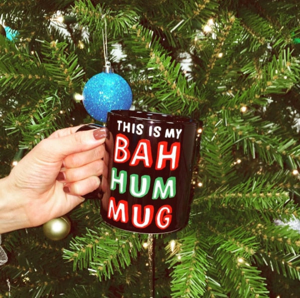 Bah Hum Mug, HOME, BAD HABIT BOUTIQUE, BAD HABIT BOUTIQUE