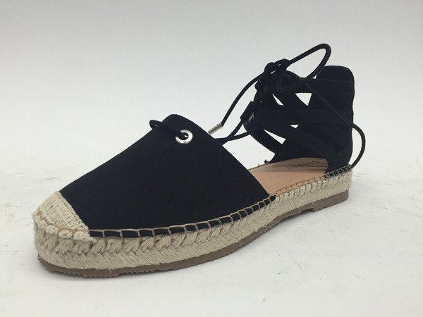 Black Espadrille Sandals, SHOES, BAD HABIT BOUTIQUE , BAD HABIT BOUTIQUE