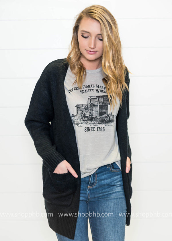 International Harvest Co. T-Shirt - BAD HABIT BOUTIQUE