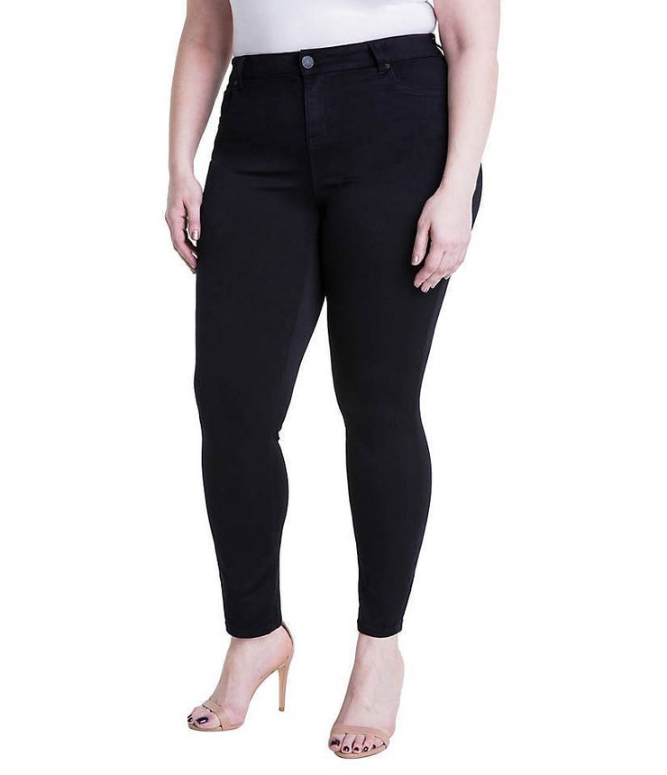 Curvy Girl Skinny Jeans | Black, CURVY GIRL, vendor-unknown, badhabitboutique