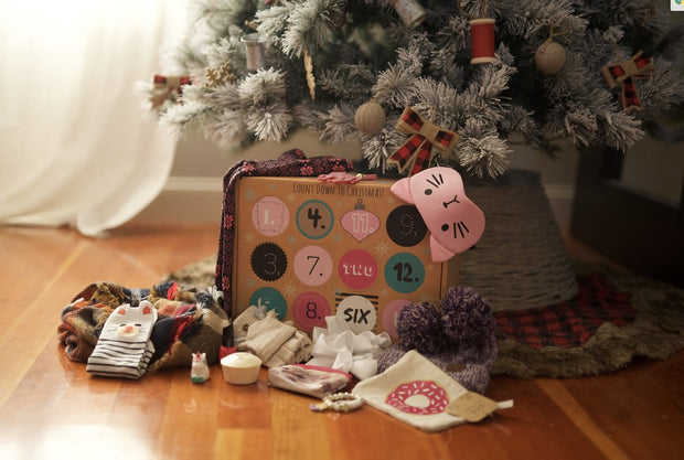 12 DAYS OF CHRISTMAS GIFT BOX FOR KIDS | YOUTH . (PRESALE DECEMBER 16TH ), GIFT BOXES, BAD HABIT BOUTIQUE, badhabitboutique