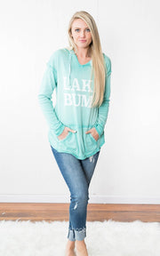 Lake Bum Hoodie |Mint, LAKE, vendor-unknown, badhabitboutique