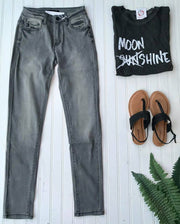 Super Skinny Jean- Gray