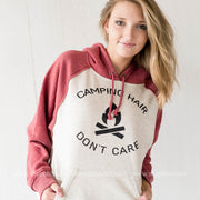 Camp Hair 2-Tone Hoodie, CAMP, GRAPHICS, BAD HABIT BOUTIQUE