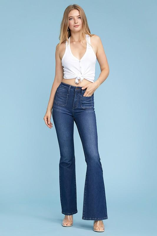 Judy Blue Flare Jeans, flare jeans, jeans, denim, high waist denim