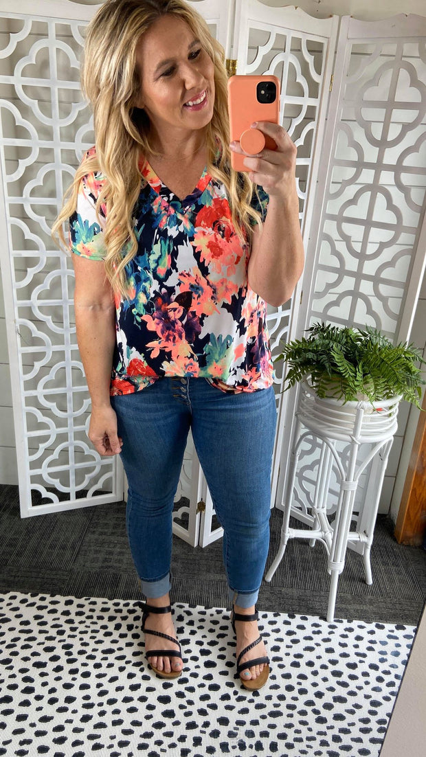 Rise and Shine Floral Top