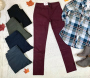 Your favorite jeggings come in 5 color choices are the perfect way to layer over sized sweaters.