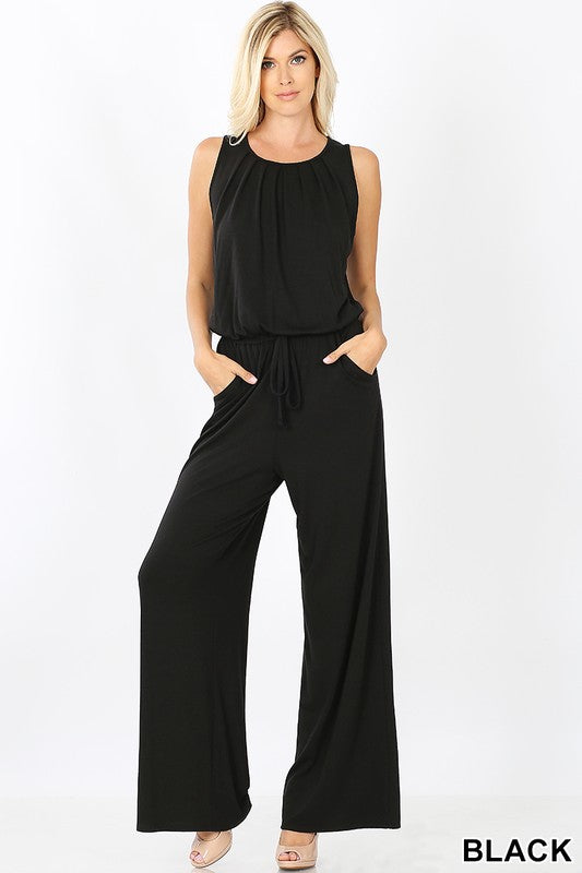 sleeveless jumpsuit, jumpsuit, jumpsuits,
