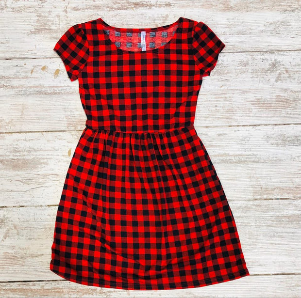 Kids dress, kid, kids, buffalo plaid dress kids