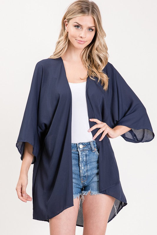 Solid Kimono Cardigan, CLOTHING, Heimish, BAD HABIT BOUTIQUE