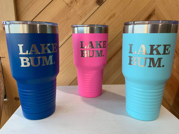 Lake Bum 30oz. Tumbler, HOME, Tumbler, BAD HABIT BOUTIQUE