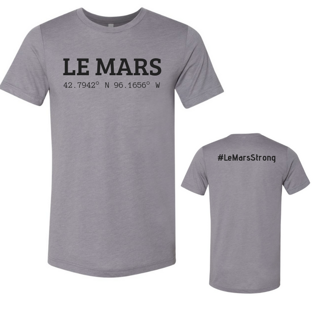 LE MARS STRONG COORDINATES UNISEX TEE