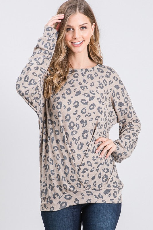 Bring On the Leopard Top, CLOTHING, Heimish, BAD HABIT BOUTIQUE