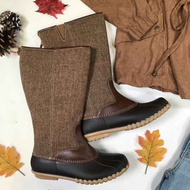 Stand Tall Duck Boots - Autumn-21, SHOES, OLEM, BAD HABIT BOUTIQUE