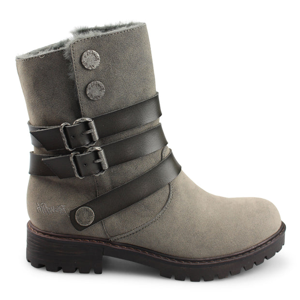 blowfish boots, boots, gray boots, smoke boots, blowfish, bootie